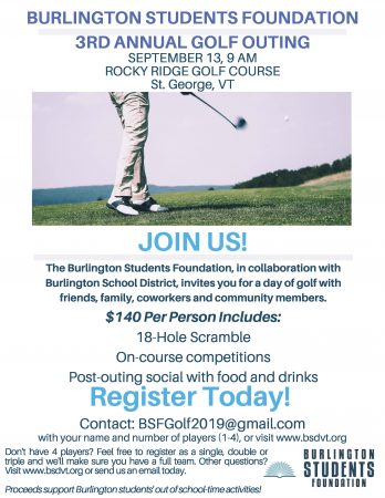 Final Golf Outing Flyer, 2019